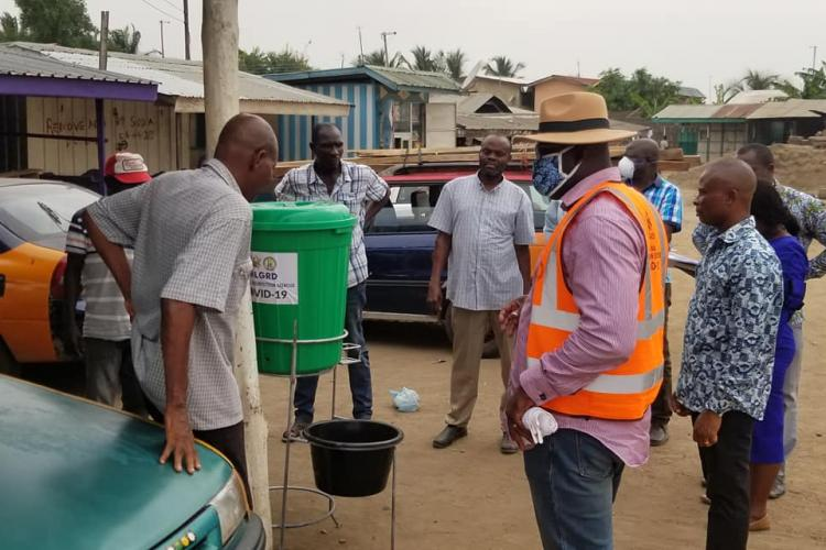 Shai-Osudoku DCE supervise Industries to ensure safety measures against Covid-19