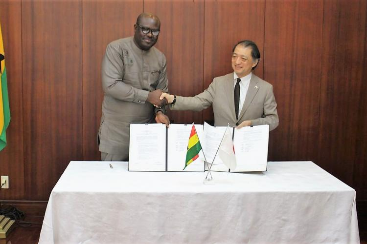 Japan Supports Shai-Osudoku District Assembly on Local Projects
